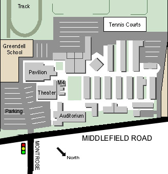 Map of Cubberley Community Center